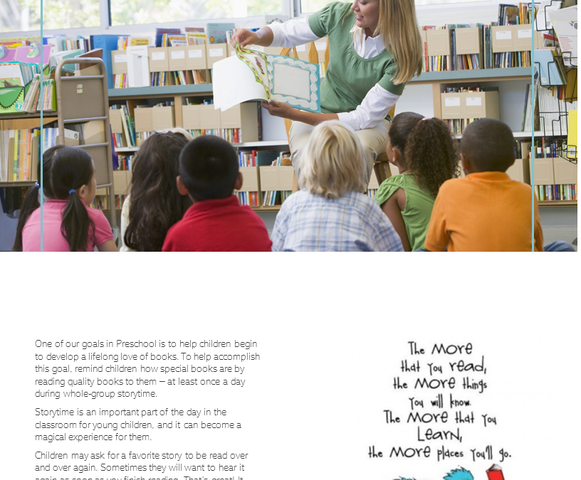 Reading to a Group of Children